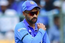 Shikhar Dhawan Taken For Scans After Hurting Left Shoulder