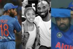Virat Kohli Rohit Sharma Condoles Demise Of Kobe Bryant