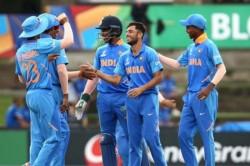 U 19 World Cup Bishnoi Ankolekar Star In Indian Victory Against Nz