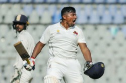 Ranji Trophy Mumbai S Sarfaraz Khan Joins Illustrious List