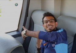 No One Sits On Ms Dhoni S Last Corner Seat In Team Bus Yuzvendra Chahal