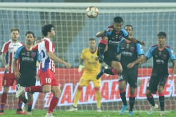 Krishna S Hat Trick Confirms Playoff Berth For Atk In Style
