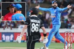 New Zealand Vs India Virat Kohli Involved In Drs Controversy