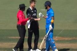 Neesham Blocks Rahul During Run Up The India Batsman Responds