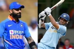 India Vs New Zealand Virat Kohli Surpasses Sourav Ganguly In Odi Elite List