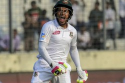 Bangladesh S Mushfiqur Rahim Hits Double Ton To Corner Zimbabwe
