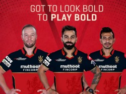 Rcb Launch New Jersey Design Ahead Of Ipl