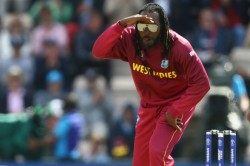 Chris Gayle Works Out Wearing Superhero Like Suit Takes Stayathome Challenge