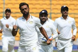 Jaydev Unadkat Leads Saurashtra To Second Successive Ranji Trophy Final