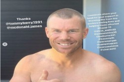 Warner Shaves Off Head To Show Support Towards Medical Staff