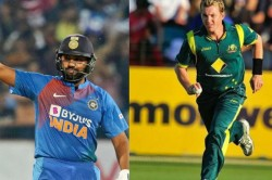 Please Rohit Not Against Australia Brett Lee S Special Request