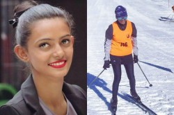 Bhavani From Kodagu Dreaming About Achieving In Skiing