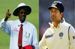 Steve Bucknor Recalls Umpiring Decisions Involving Sachin Tendulkar