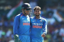 Ms Dhoni Hasn T Played After World Cup So Don T Need To Prove Anything Kuldeep Yadav