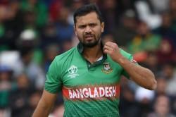 Bangladesh Cricketer Mashrafe Mortaza Tests Positive For Covid