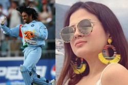 Sakshi Reacts To Ms Dhoni S Old Long Hairstyle