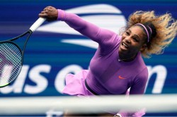 Serena Williams Starts Us Open Preparations Installs New Surface At Home