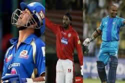 Oldest Batsmen To Score A Hundred In Ipl