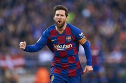 Lionel Messi Nets 700th Career Goal As Barcelona Settles For Draw
