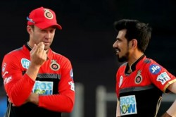 Chahal Shares Funny Video With Ab De Villiers From Ipl 2020 Promo Shoot