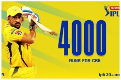 Ipl 2020 Ms Dhoni Completes 4000 Runs For Csk And 150 Dismissals In Ipl