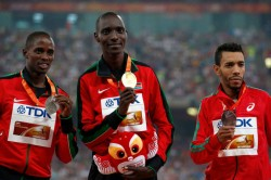 Kenya S Elijah Manangoi Gets Two Year Ban For Anti Doping Violation