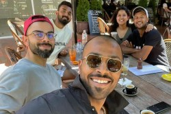 Kohli Pandya Rahul And Agarwal Head Out In Beautiful Canberra Ahead Of 1st T20i