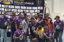 Dubai Saifa Volleyball Premier League Concept Creation Champions