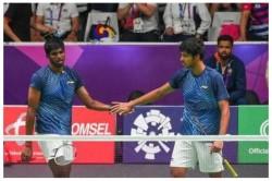 Thailand Open 2021 India Doubles Pair Chirag Satwik Won Parupalli Kashyap Retires Hurt