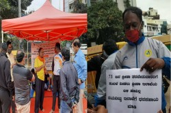 Karnataka Sports And Games Coaches Protest