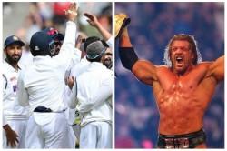 A Wwe Star Wrestler Triple H Lauds Team India S Win In Australia