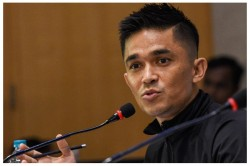 Indian Football Captain Sunil Chhetri Tests Positive For Covid