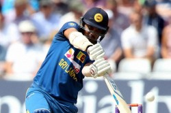 Sri Lanka S Danushka Gunathilaka Given Out For Obstructing The Field
