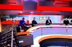 Espn Journalist Crushed After Studio Set Falls On Him Video