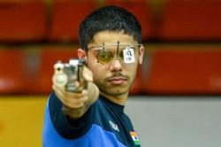 Issf World Cup Vijayveer Tejaswani Win Gold In 25m Rapid Fire Pistol Mixed Event