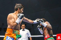 Boxer Vijender Singh S Unbeaten Run Ends Loses To Russian Opponent In Battle On Ship