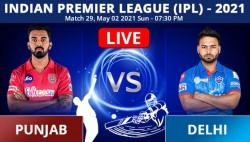 Ipl 2021 Punjab Kings Vs Delhi Capitals 29th Match Playing Xi Live Score