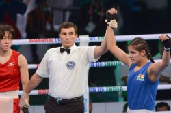 Asian Boxing Championships One Step Away From Medal Four Indians In Action On Day