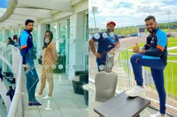 Wtc Final Latest Pictures As Indian Cricket Team Lands In Southampton