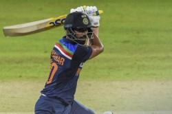 Sri Lanka Vs India Deepak Chahar Slams Maiden Odi Half Century