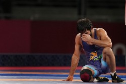 Bajrang Punia Risked Breaking His Leg In Bronze Medal Match In Tokyo Olympics