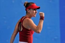 Tokyo Olympics Switzerland S Belinda Bencic Beats Vondrousova To Win Tennis Title