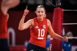 Tokyo Olympics 2021 Us Women Beat Brazil To Win 1st Olympic Volleyball Gold