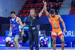 Junior World Wrestling Championship Silver For Ravinder Yash Patil Anirudh Grab Bronze