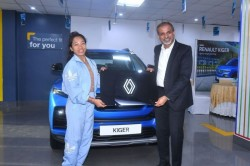 Tokyo Olympic Medal Winner Mirabai Chanu Gets A Renault Kiger Compact Suv