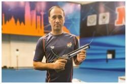 Paralympics Shooter Singhraj Wins Bronze In The Men S 10m Air Pistol Sh