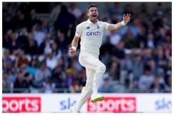 Eng Vs Ind England Pacer James Anderson Bowls Despite Wounded Knee