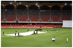 Ind W Vs Aus W Day 1 Rain Washes Out Play After Brilliant Start For India
