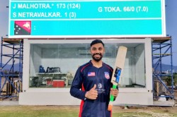 Usa Cricketer Smacks Six Sixes In Over Against Papua New Guinea