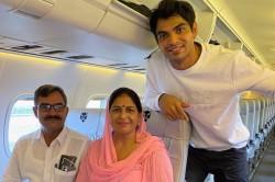 Neeraj Chopra S Dream Comes True Takes Parents On Their First Flight